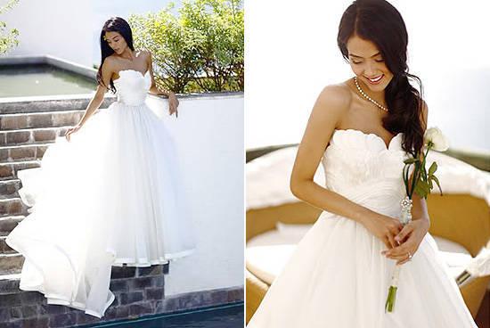 Top 10 Prettiest Celebrity Wedding Gowns   SPOT.ph