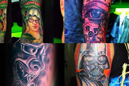 Chronic Ink Sample Tattoo Designs