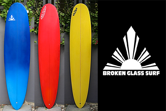 CHECK IT OUT: Custom Hand-shaped Fiberglass Surfboards by