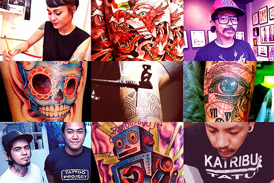 10 Best Tattoo Parlors in Manila 2014 Edition