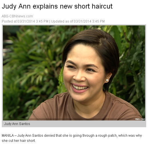 judy ann santos haircut - Haircuts Models Ideas