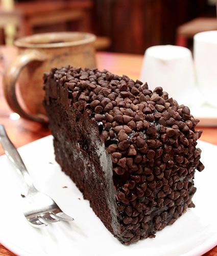 Poco Deli's Blackout Cake