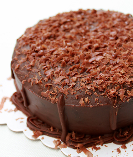 Frank and Carol's Milk Chocolate Cake