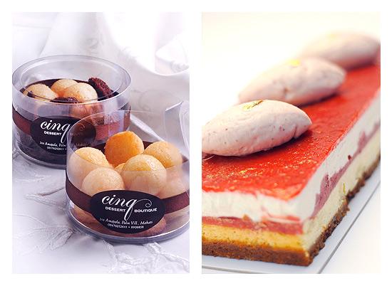Cinq Dessert Boutique