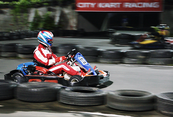 Professional Racer at City Kart Racing