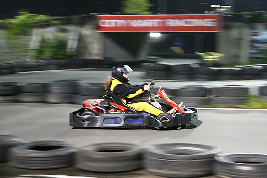 Karting at Circuit Makati
