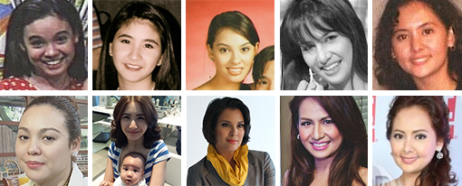 The Kutings (Claudine Barreto, Rica Peralejo, G. Toengi, Regine Tolentino and Lindsay Custodio)