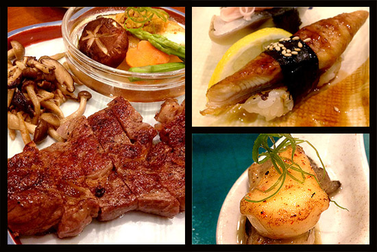A 10 Course Japanese Meal For Only P1500