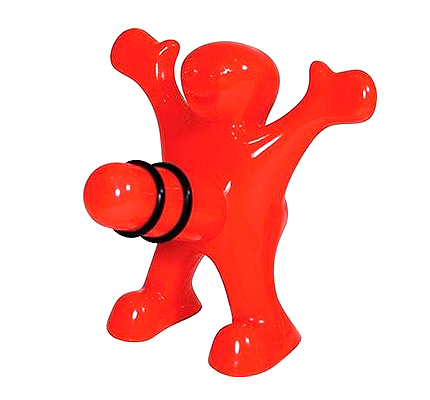 Happy Man Bottle Stopper (P480)