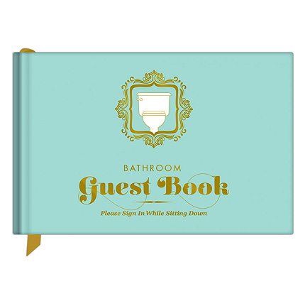Bathroom Guest Book (P699)