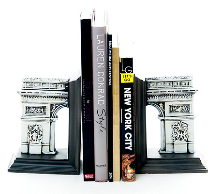 Arc de Triomphe Bookends by sifra (P3,895)