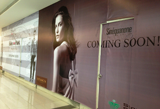 Sinequanone is Soon to Open at Estancia Mall