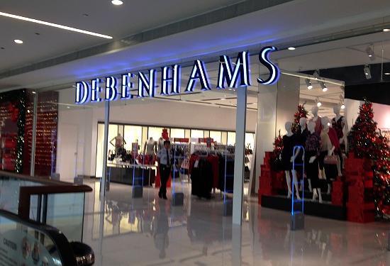Debenhams at Estancia Mall