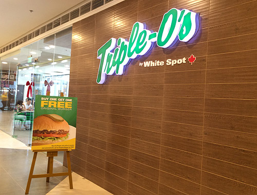 Triple O's White Spot