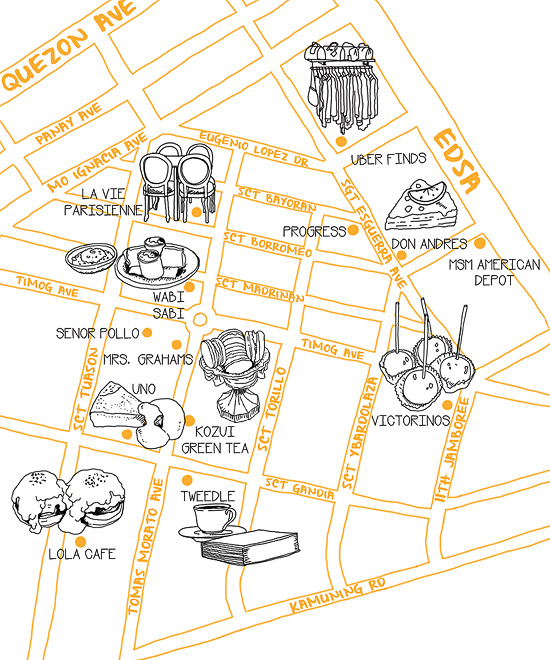 Neighborhood Guide: South Triangle, Quezon City (2015 Edition)