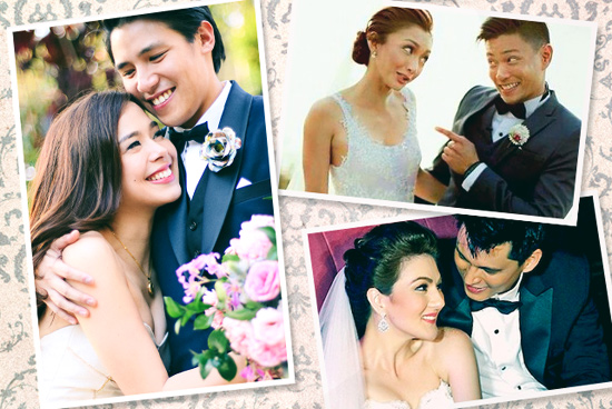 10 Surprise Celebrity Weddings We Love   SPOT.ph