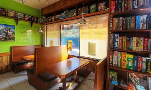 Have fun with Food and Board Games at Tobey's Game Cafe