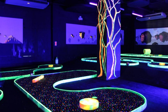 Channel your Inner Barney Stinson at Lazer Xtreme