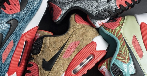 official photos 99e74 32456 Nike is celebrating 25 years of the Air Max 90 with a new collection