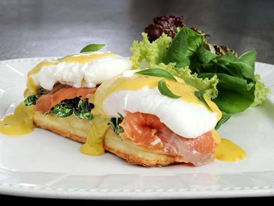 Perk Up Cafe Breakfast Menu