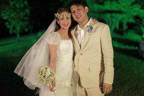The Wedding Was Held At Splendido Golf And Country Club Tagaytay