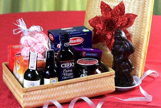 Christmas food gift ideas manila