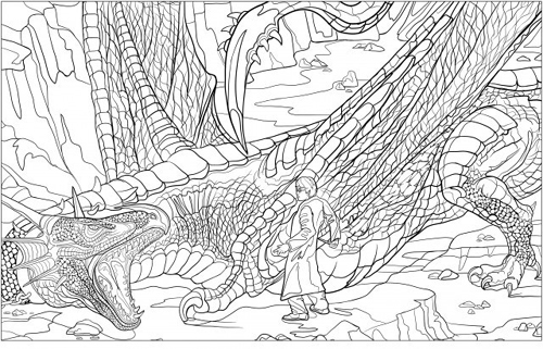 Share The Harry Potter Magical Creatures Coloring Book