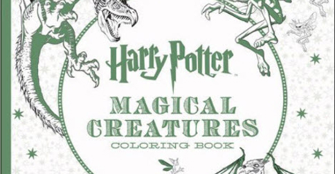 The New Harry Potter Themed Coloring Book Is Absolutely Magical