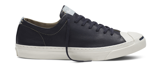 17c7b8bfd0ab Jack Purcell Remastered in Tumbled Leather Black. Share