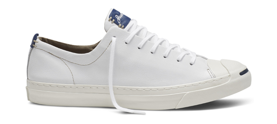 9b187b9e985a Share. Jack Purcell Remastered in Tumbled Leather White