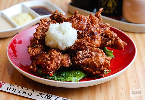 Osaka Ohsho Chicken Karaage