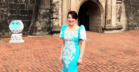 Imelda marcos dress pictures