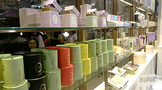 Laduree Product Display