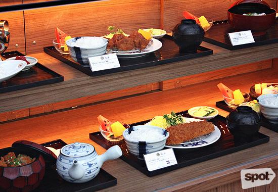 Fake Japanese Food Display