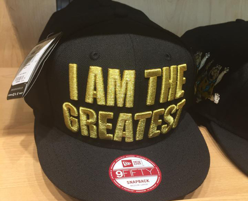I Am The Greatest Snapback