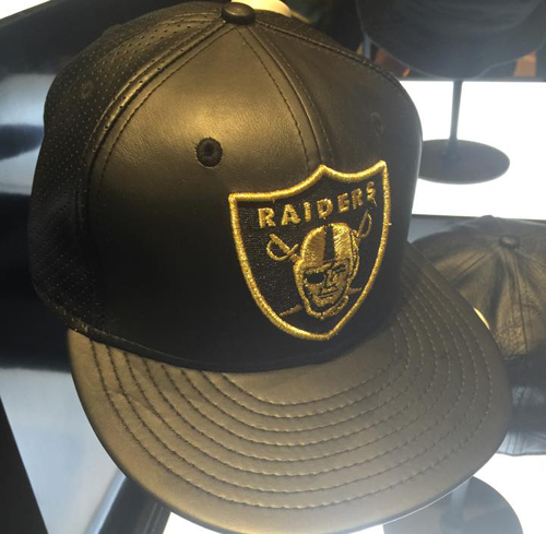 Oakland Raiders Fitted Cap
