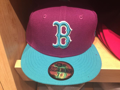 The Boston Red Sox Fitted Cap