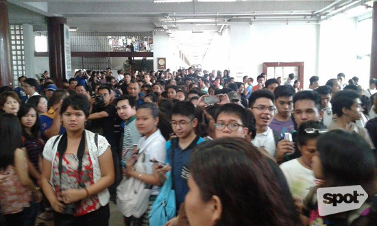 Crowd at UP Oblation Run 2015