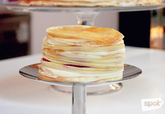 Paper Moon Strawberry Mille Crepe