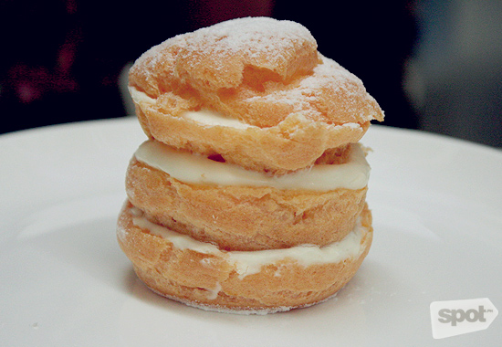Paper Moon Cream Puff