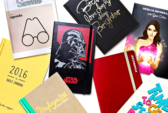 50 Perfect 2016 Planners for Every Personality