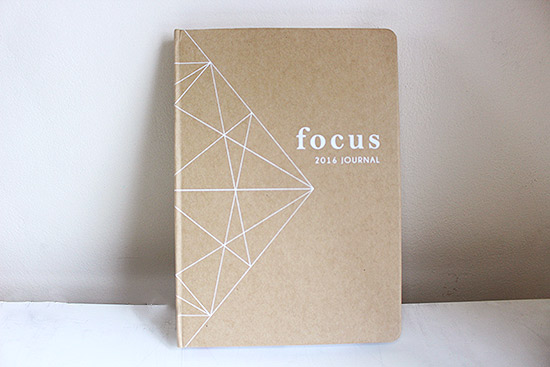 Focus 2016 Journal from Belle de Jour