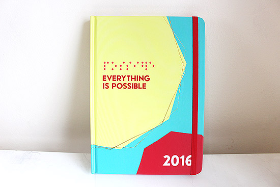 Everything is Possible 2016 Journal from Belle de Jour