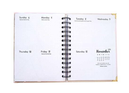 Design Your Life Planner 2016