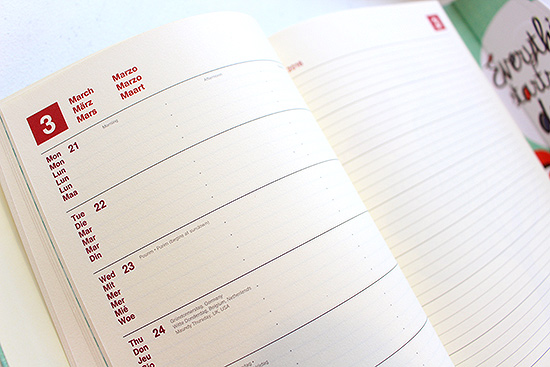 Magneto Diary Design