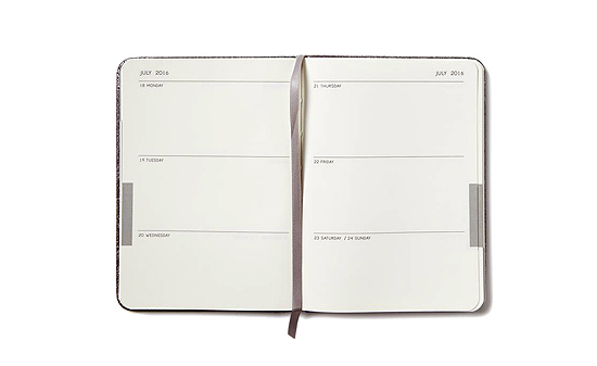 2016 Planner Weekly Layout A6 Interior