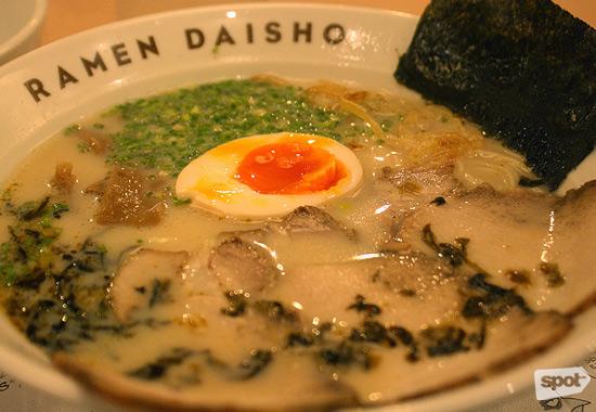 Ramen Daisho's Tonkotsu Ramen