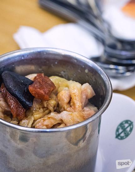 Tim Ho Wan Chicken Sausage Mushroom