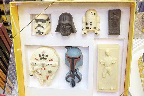 Star Wars Chocolate Set