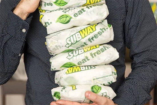 Subway's Buy One Get One Promo